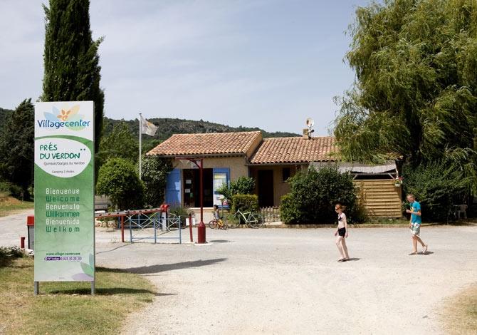 France - Sud Est et Provence - Quinson - Camping Les Prés du Verdon 3*