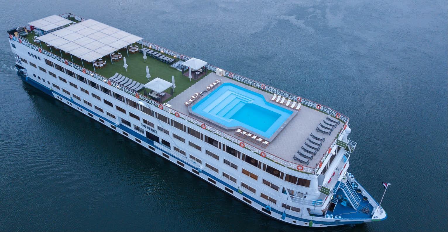 Séjour Louxor - Circuit Coeur de l'Egypte - Top Clubs Cruise M/S Da Vinci 5* - Egypte