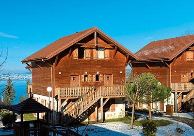 France - Alpes - Evian les Bains - Résidence Les Chalets d'Evian