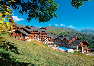 France - Alpes - Le Corbier - Résidence Les Alpages du Corbier