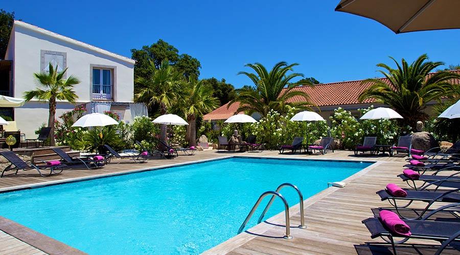 golfe hotel 3 porto vecchio corse france avec voyages leclerc corsicatours ref 472275. Black Bedroom Furniture Sets. Home Design Ideas