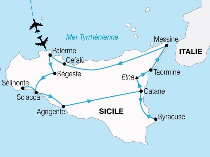 Italie - Sicile - Circuit Le Grand Tour de Sicile