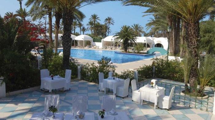 hotel sangho club zarzis 3 bungalow jardin prix promo zarzis tunisie avec voyages leclerc. Black Bedroom Furniture Sets. Home Design Ideas