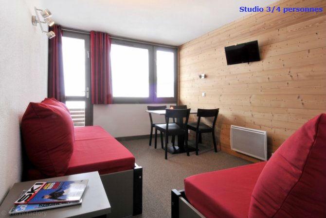 France - Alpes - La Plagne - Plagne Aime 2000 - Skissim Select - Appartement Vue Pistes