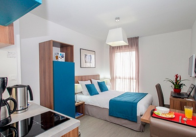appart 39 hotel odalys campus orleans st jean orleans poitou centre loire france avec. Black Bedroom Furniture Sets. Home Design Ideas