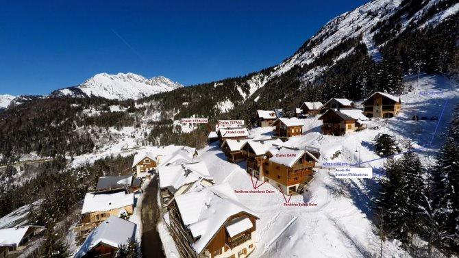 France - Alpes - Oz en Oisans - Les Chalets de Pré-Genty