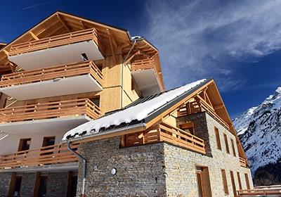 Vaujany - Résidence Le Crystal Blanc, L'Alpe d'Huez