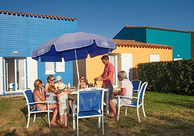 France - Atlantique Nord - Ile d'Oléron - Résidence Odalys Le Village des Amareyeurs