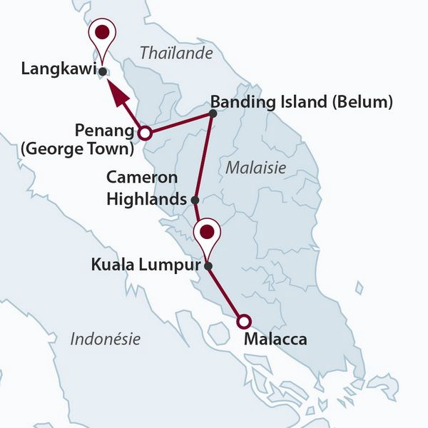 Malaisie - Circuit La Péninsule Etincelante avec extension de séjour Langkawi 4*