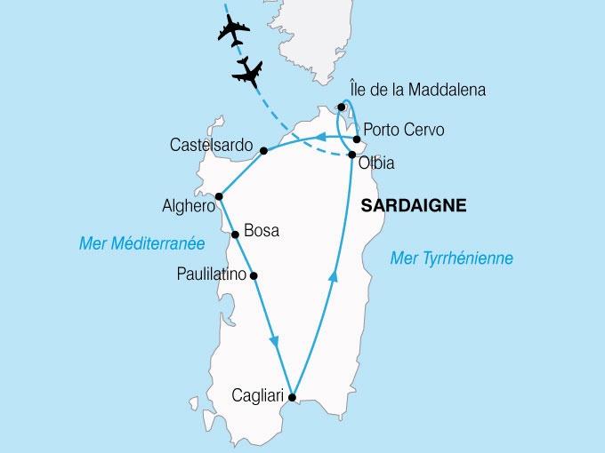 Italie - Sardaigne - Circuit La Sardaigne du Nord au Sud