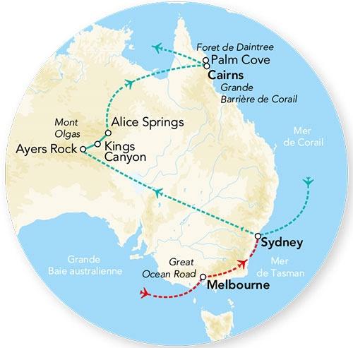 Australie - Circuit Splendeurs de l'Australie