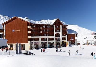 France - Alpes - La Plagne - Plagne Soleil - Résidence Le Cervin