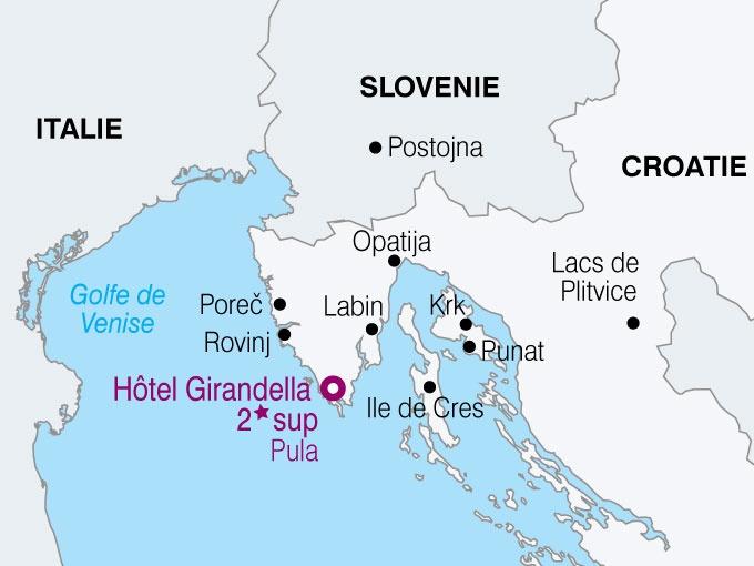 Sejour Decouverte en Istrie, Croatie avec Voyages Leclerc