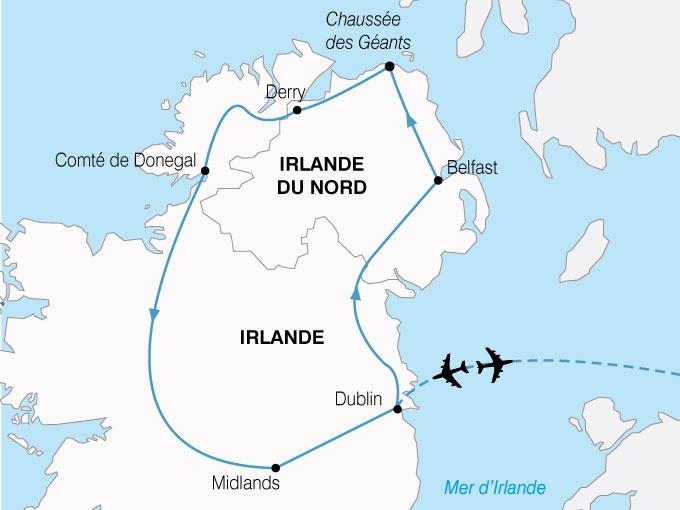 Grande-Bretagne - Ecosse - Irlande - Dublin - Royaume Uni - Irlande du Nord - Belfast - Circuit Héritage Celtique de Dublin à Belfast