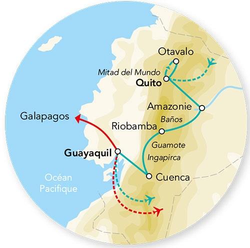 Equateur - Circuit Splendeurs de l'Equateur avec extension Galapagos en Croisière