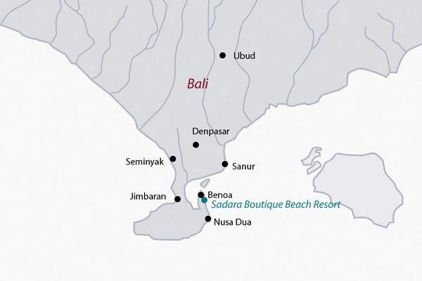Indonésie - Bali - Hôtel Sadara Boutique Beach Resort 4*
