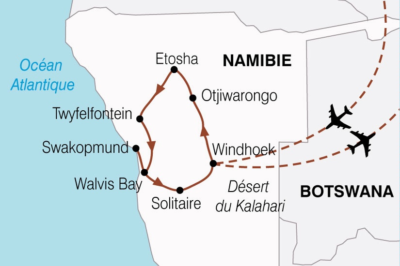 Namibie - Circuit Aventure Namibienne