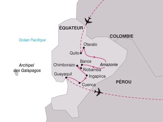 Equateur - Circuit Equateur Mitad del Mundo avec extension Galapagos
