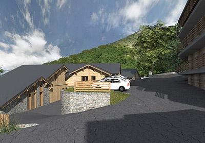 France - Alpes - Alpe d'Huez - Chalet De Louis