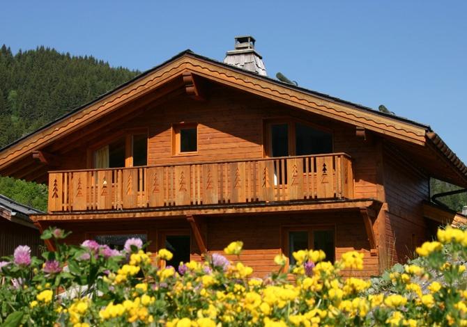 France - Alpes - La Tania - Chalets de la Tania