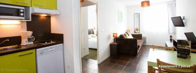 apparthotel all suites bordeaux lac bordeaux atlantique sud france avec voyages leclerc. Black Bedroom Furniture Sets. Home Design Ideas