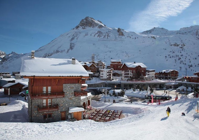 Residence Montana Planton  Tignes  Alpes  France Avec