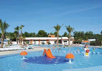 Domaine residentiel de plein air l 39 oasis barcares mediterranee ouest france avec voyages - Camping oasis port barcares ...