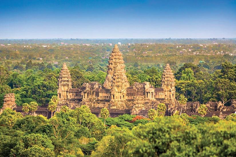 Circuit Cambodge Le Royaume Khmer Vols Air France