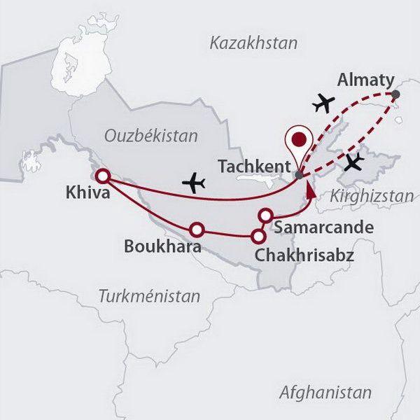 Ouzbékistan - Circuit Princes d'Ouzbékistan