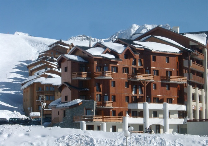 France - Alpes - La Plagne - Plagne Soleil - Chalets des Alpages