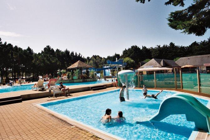 Camping le conguel 4 quiberon bretagne france avec for Camping piscine quiberon