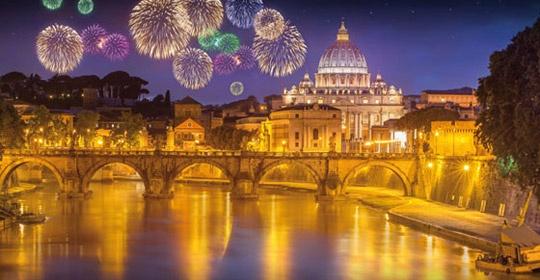 Nouvel An à Rome - Hôtel Genio - Rome