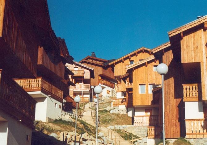 France - Alpes - La Plagne - Plagne Soleil - Les Chalets des Alpages