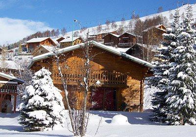 France - Alpes - Les Deux Alpes - Chalet Soleil d'Hiver