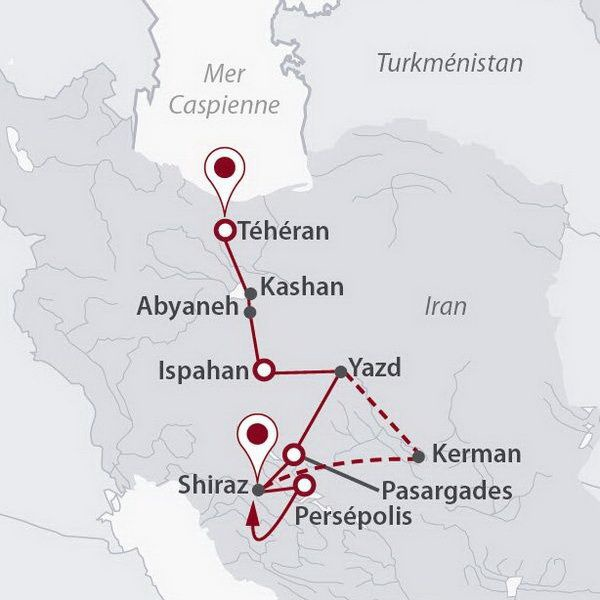 Iran - Circuit Enluminures Persanes avec Turkish Airlines